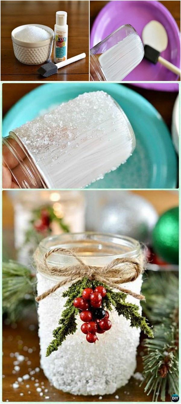 Best ideas about Christmas DIY Decoration Ideas . Save or Pin 35 DIY Christmas Decoration Ideas For Creative Juice Now.