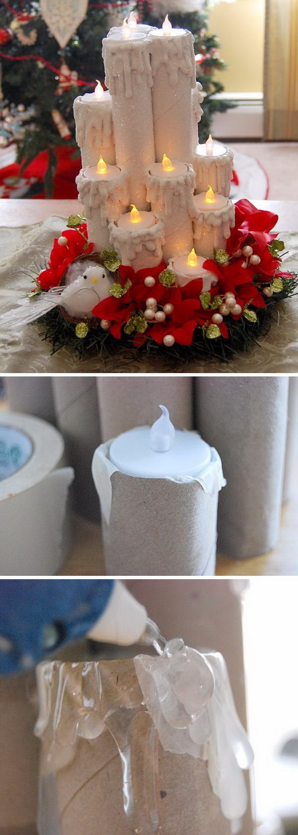 Best ideas about Christmas DIY Decoration Ideas . Save or Pin 30 DIY Christmas Decoration Ideas Hative Now.