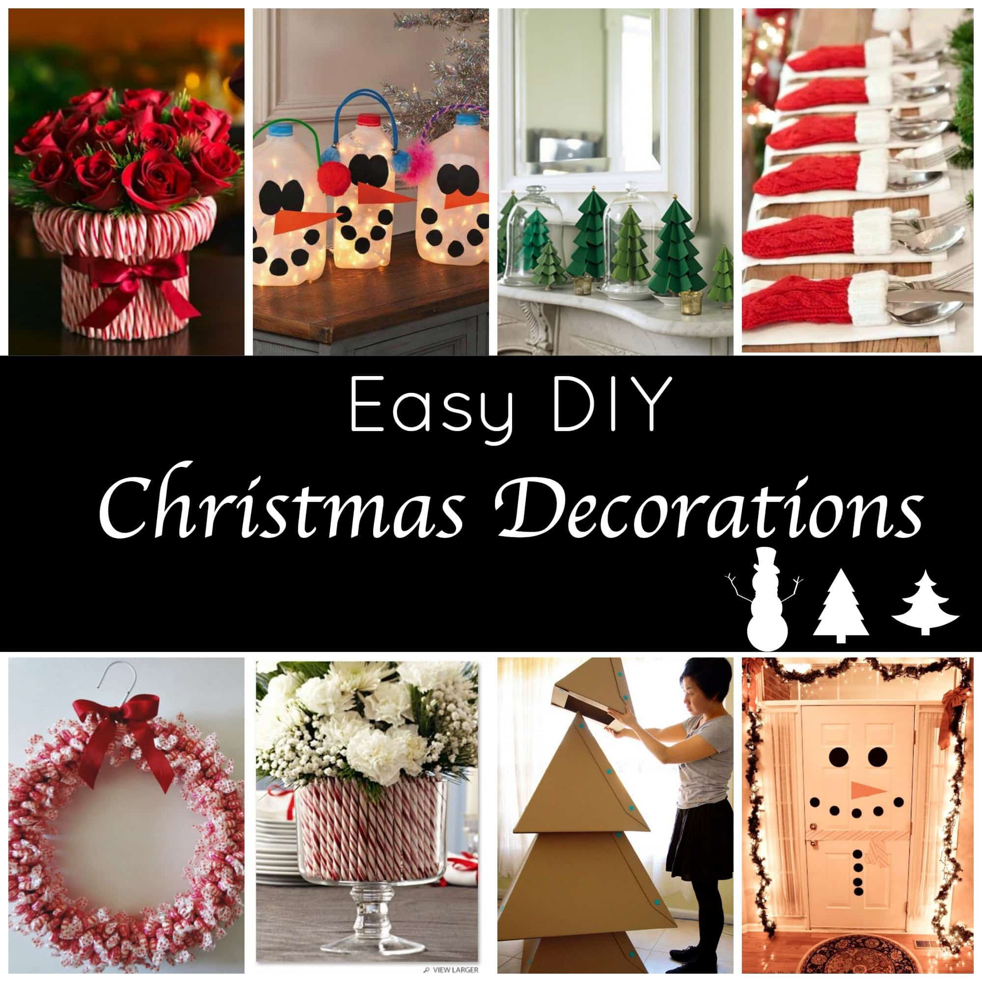 Best ideas about Christmas DIY Decoration Ideas . Save or Pin Cute and Easy DIY Holiday Decorations for a Festive Home Now.