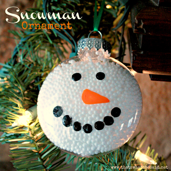 Best ideas about Christmas Ornaments Craft Ideas For Kids . Save or Pin Christmas ornament craft ideas for your kids to make Now.