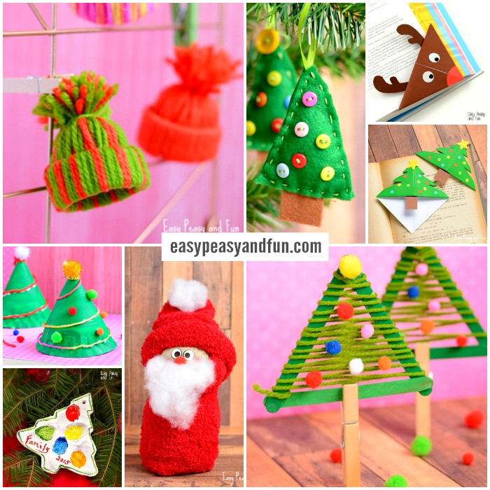 Best ideas about Christmas Ornaments Craft Ideas For Kids . Save or Pin Festive Christmas Crafts for Kids Tons of Art and Now.