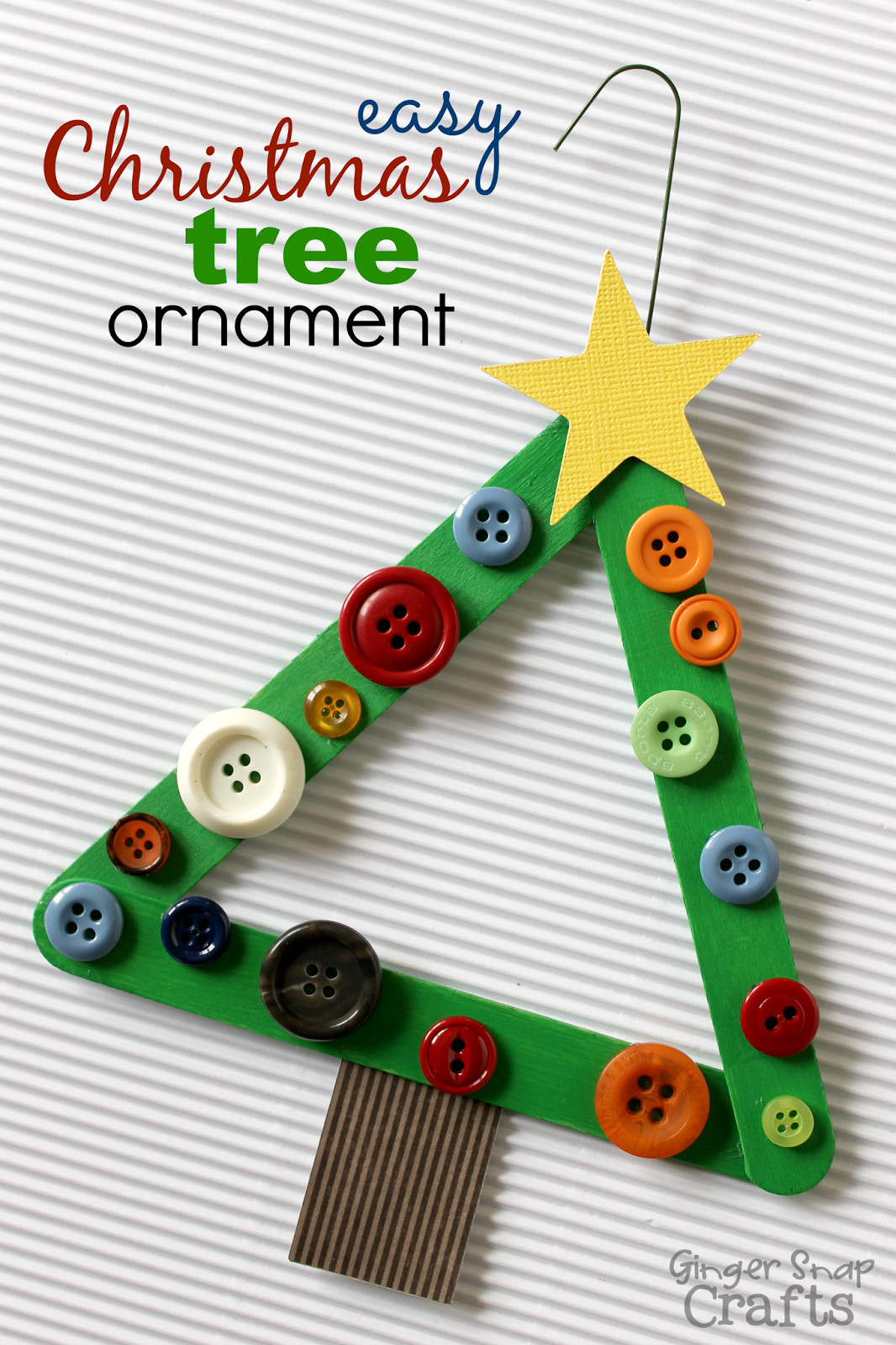 Best ideas about Christmas Ornaments Craft Ideas For Kids . Save or Pin 5 Cute Ornaments You Can Make Now.