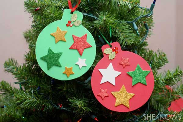 Best ideas about Christmas Ornaments Craft Ideas For Kids . Save or Pin Top 38 Easy and Cheap DIY Christmas Crafts Kids Can Make Now.