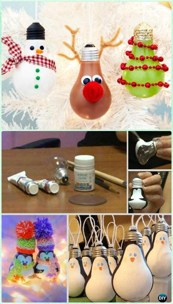 Best ideas about Christmas Ornaments DIY Kids . Save or Pin 20 Easy DIY Christmas Ornament Craft Ideas For Kids to Make Now.