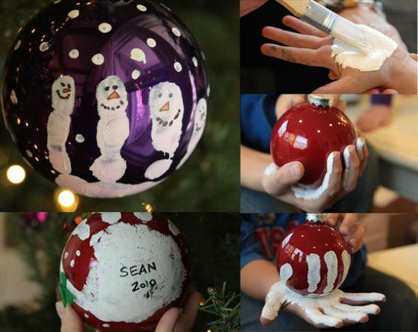 Best ideas about Christmas Ornaments DIY Kids . Save or Pin Homemade Christmas tree ornaments 20 easy DIY ideas Now.