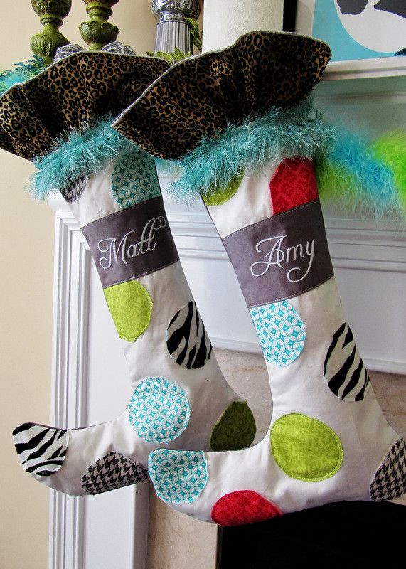 Best ideas about Christmas Stockings DIY . Save or Pin 29 Creative DIY Christmas Stockings Now.