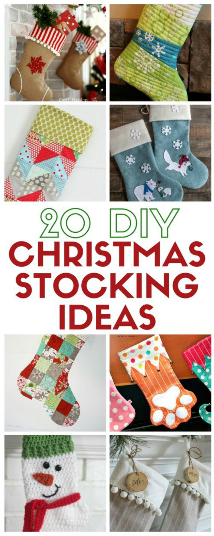 Best ideas about Christmas Stockings DIY . Save or Pin The Creative Exchange Link Party Liz on Call Now.