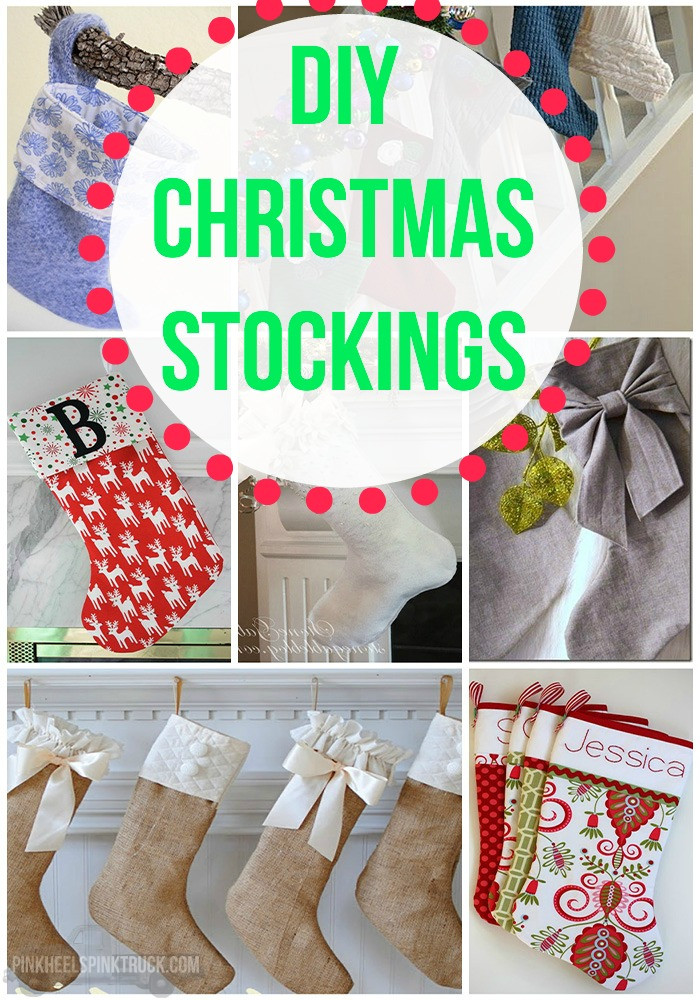 Best ideas about Christmas Stockings DIY . Save or Pin DIY Christmas Stockings Roundup • Taylor Bradford Now.