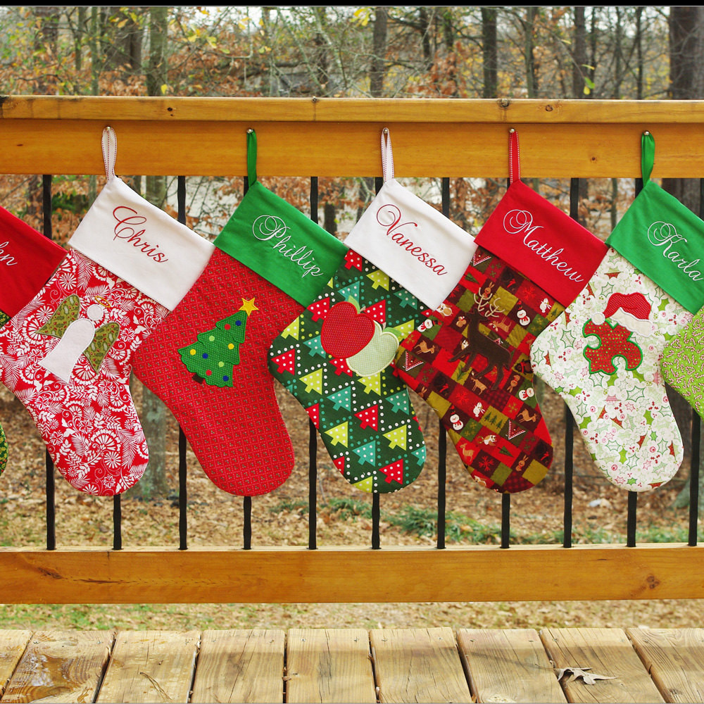 Best ideas about Christmas Stockings DIY . Save or Pin DIY Holiday Christmas Stocking Patterns Elf and Now.