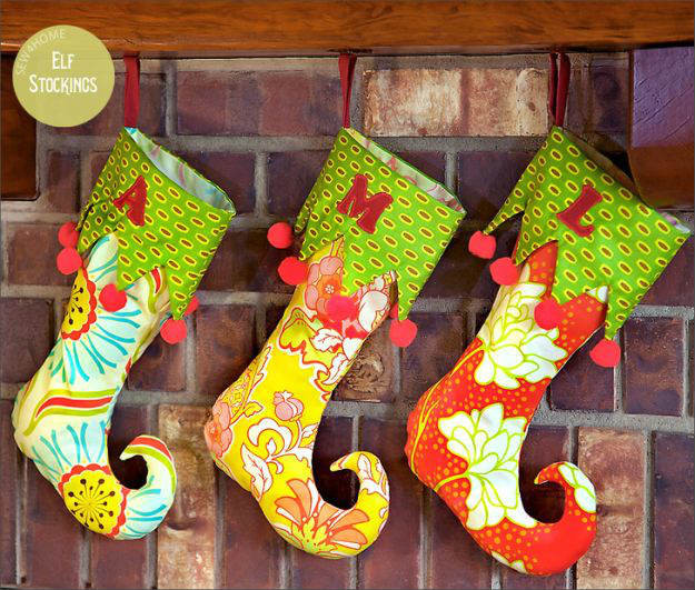 Best ideas about Christmas Stockings DIY . Save or Pin Christmas Stocking Project Ideas DIY Projects Craft Ideas Now.