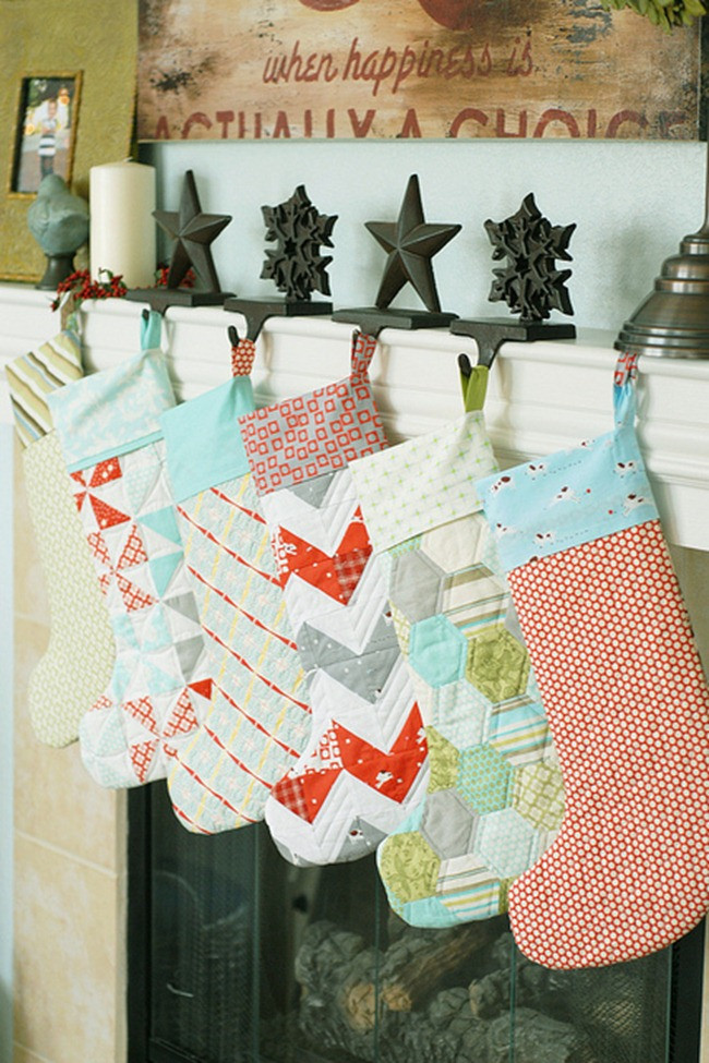 Best ideas about Christmas Stockings DIY . Save or Pin 12 DIY Christmas Stockings–Handmade Holiday Inspiration Now.
