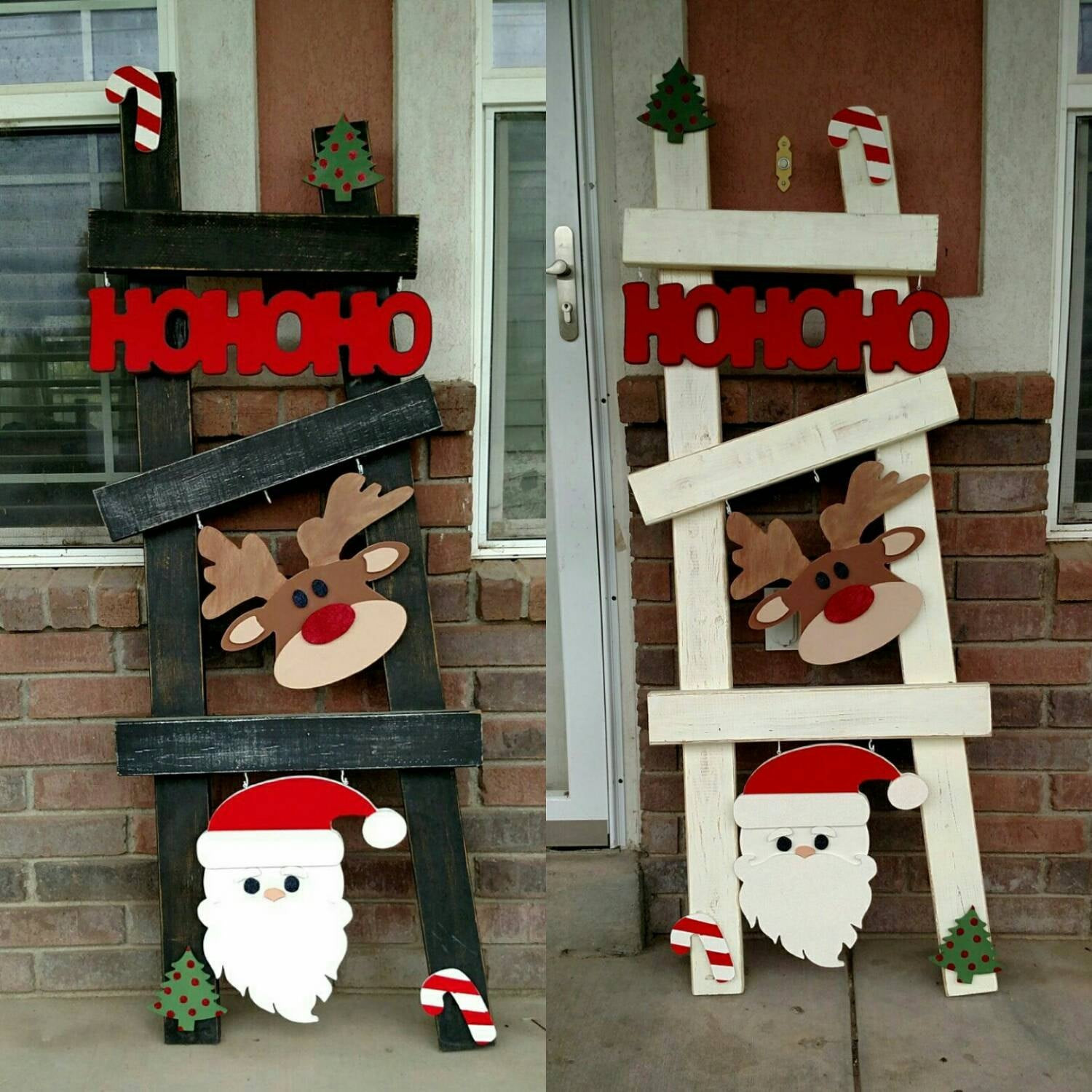 Best ideas about Christmas Wood Craft Projects . Save or Pin Christmas ladder kit set Now.