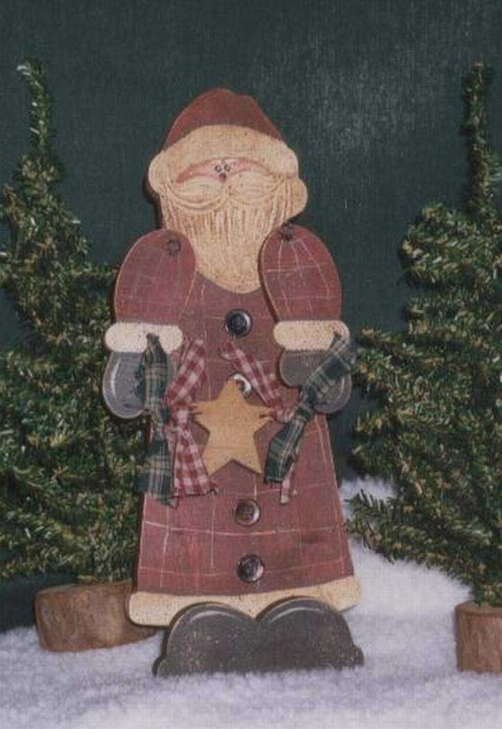 Best ideas about Christmas Wood Craft Projects . Save or Pin Wood Crafts Santa Claus Now.