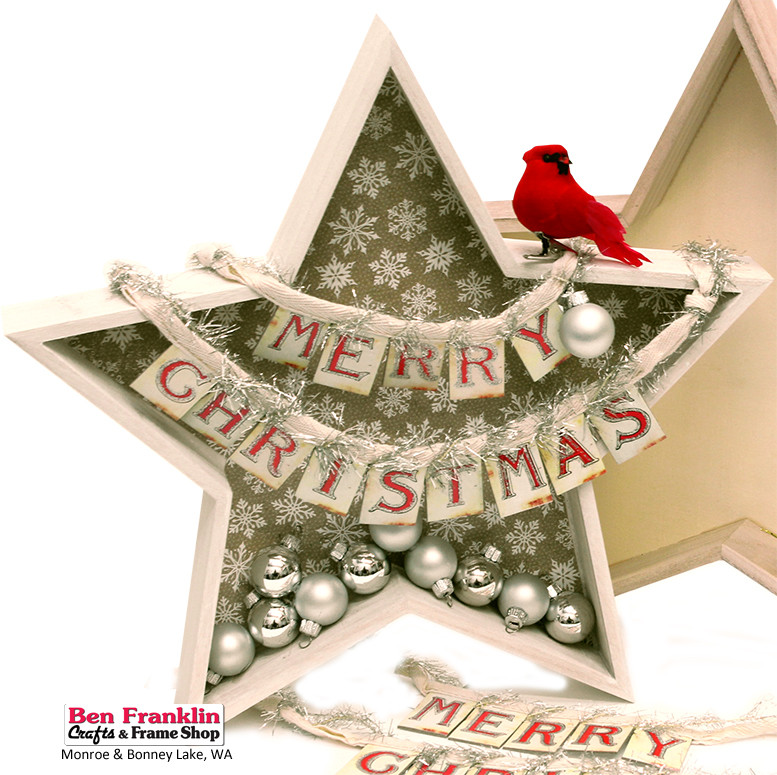 Best ideas about Christmas Wood Craft Projects . Save or Pin Ben Franklin Crafts and Frame Shop Monroe WA DIY Merry Now.