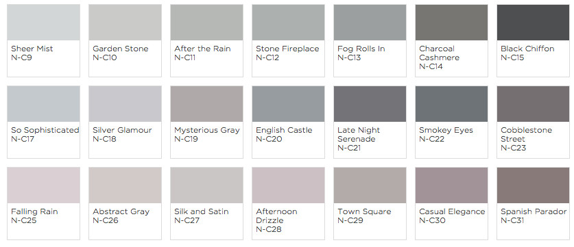 Best ideas about Clark And Kensington Paint Colors . Save or Pin Grey Pain from Clark Kensington with Blogger Style Wax Now.
