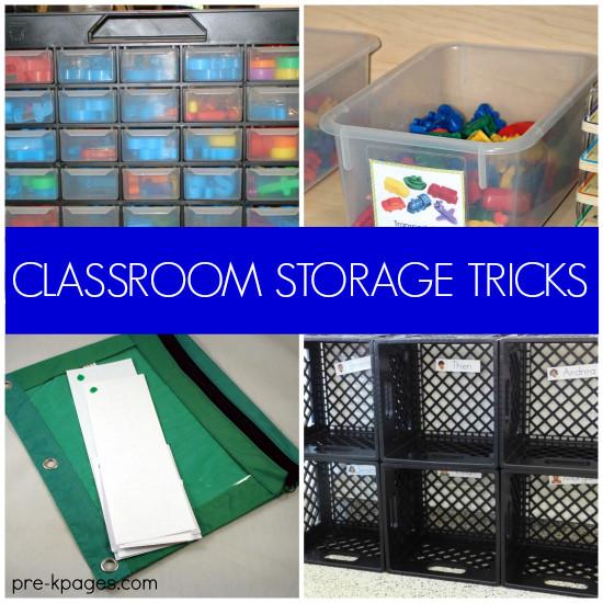 Best ideas about Classroom Storage Ideas . Save or Pin 20 Classroom Storage Ideas Now.