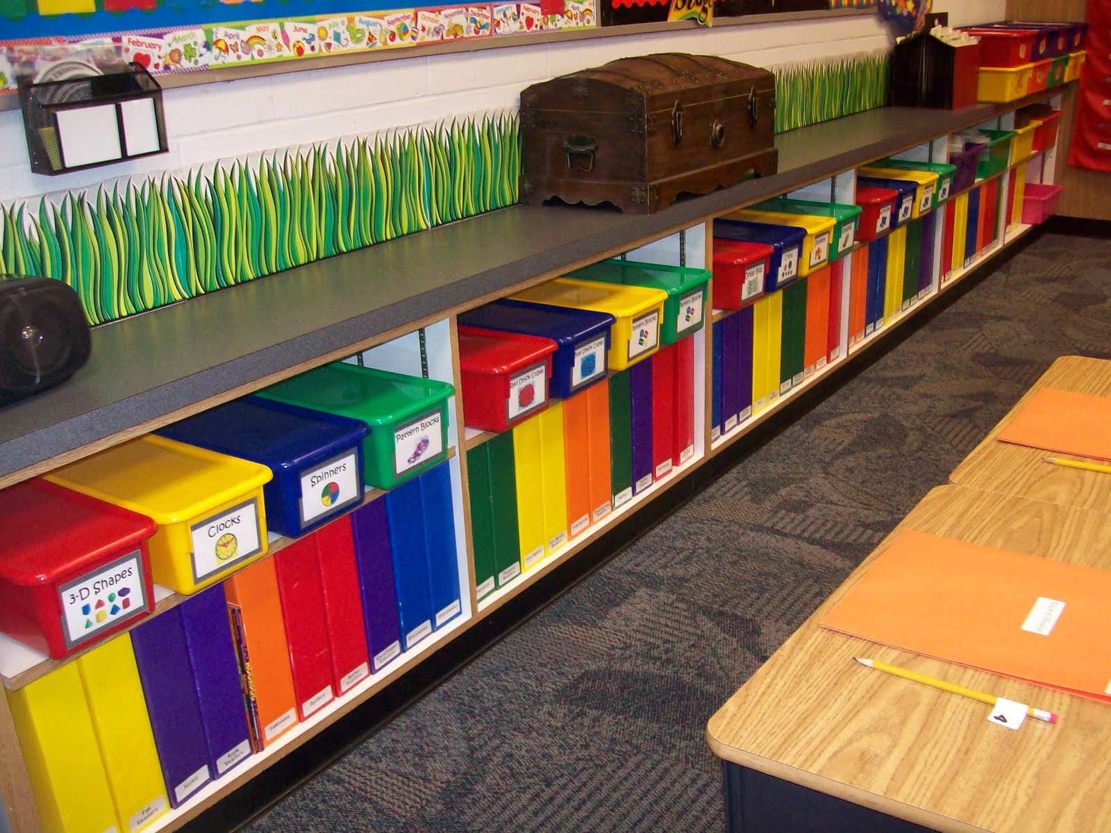 Best ideas about Classroom Storage Ideas . Save or Pin TEACHER SOL Middle school teacher offers 10 classroom Now.