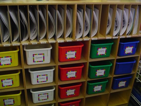 Best ideas about Classroom Storage Ideas . Save or Pin Classroom Storage Ideas I Vote Cubbies Now.