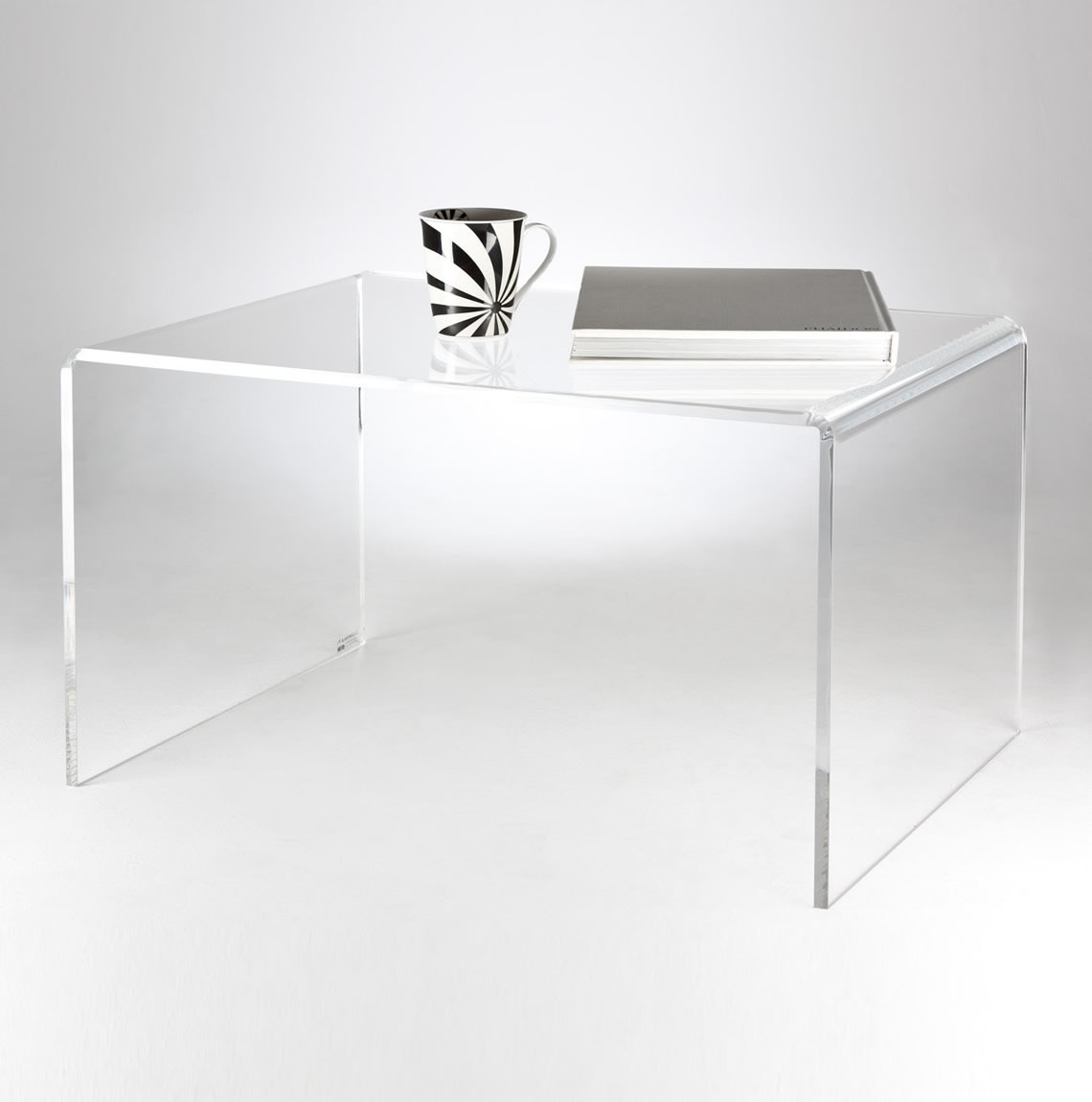 Best ideas about Clear Coffee Table . Save or Pin Clear Acrylic Coffee Table Premium acrylic Made in the UK Now.