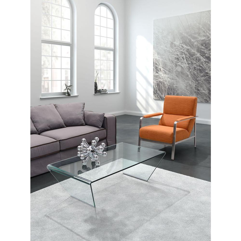 Best ideas about Clear Coffee Table . Save or Pin ZUO Migration Clear Glass Coffee Table The Home Depot Now.