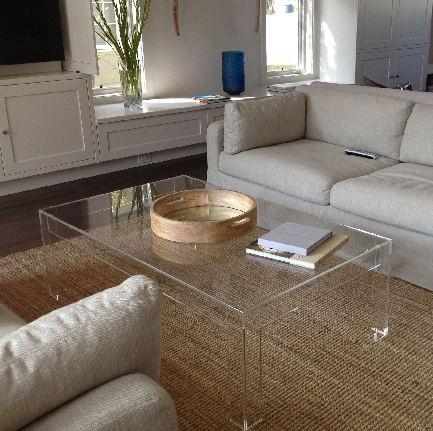 Best ideas about Clear Coffee Table . Save or Pin Clear Acrylic Coffee Table diy furniture Now.