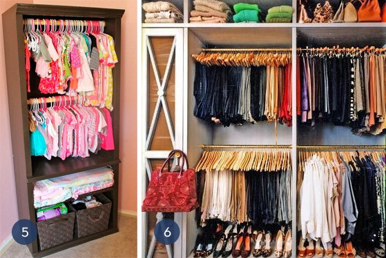 Best ideas about Clothes Storage Ideas For Small Spaces . Save or Pin How To Maximize Space With Vertical Storage Units FIF Now.