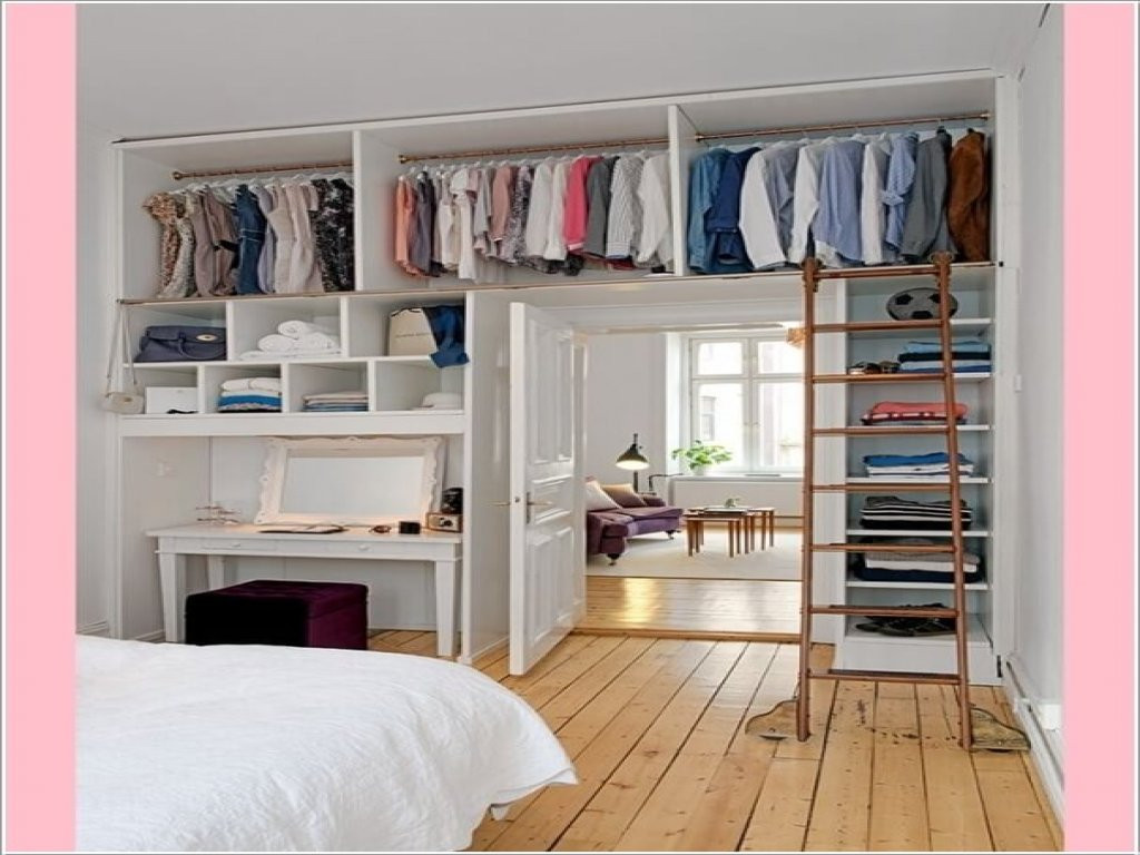 Best ideas about Clothes Storage Ideas For Small Spaces . Save or Pin New innovative ideas for clothes storage ideas for small Now.