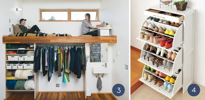 Best ideas about Clothes Storage Ideas For Small Spaces . Save or Pin Unique Clothing Organization Ideas For Small Spaces Now.