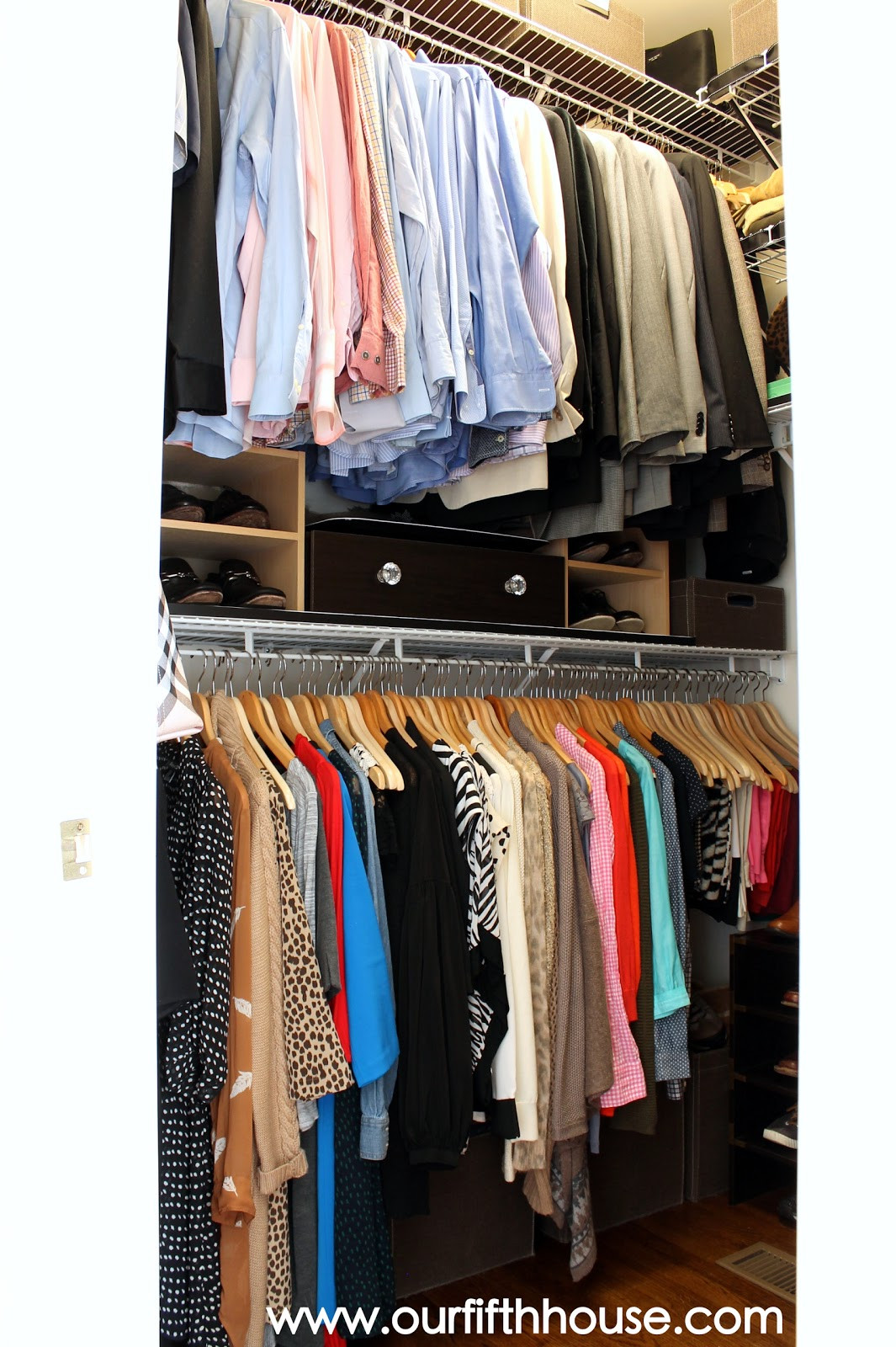 Best ideas about Clothes Storage Ideas For Small Spaces . Save or Pin Master Closet Organization Ideas Our Fifth House Now.