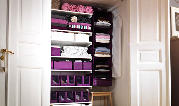 Best ideas about Clothes Storage Ideas For Small Spaces . Save or Pin 50 beautiful storage ideas for small house Now.