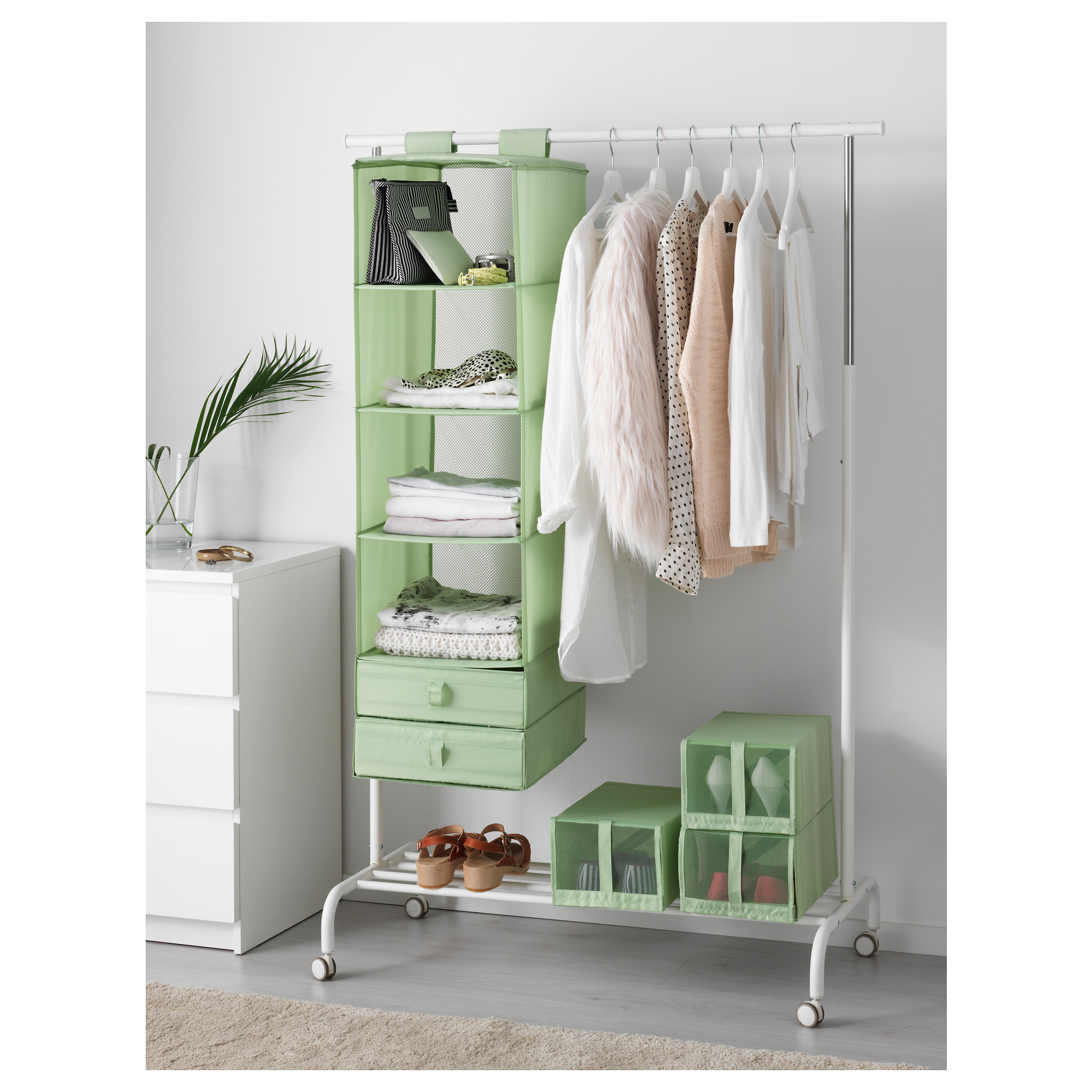 Best ideas about Clothes Storage Ideas For Small Spaces . Save or Pin 12 Super Creative Storage Ideas For Small Spaces Now.