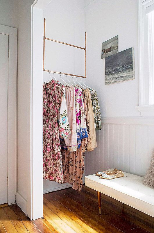 Best ideas about Clothes Storage Ideas For Small Spaces . Save or Pin 18 Creative Clothes Storage Solutions For Small Spaces Now.