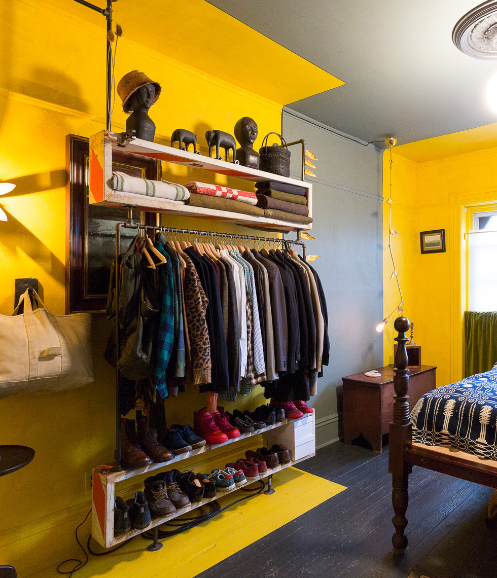 Best ideas about Clothes Storage Ideas For Small Spaces . Save or Pin Storage Solutions for Small Spaces Now.