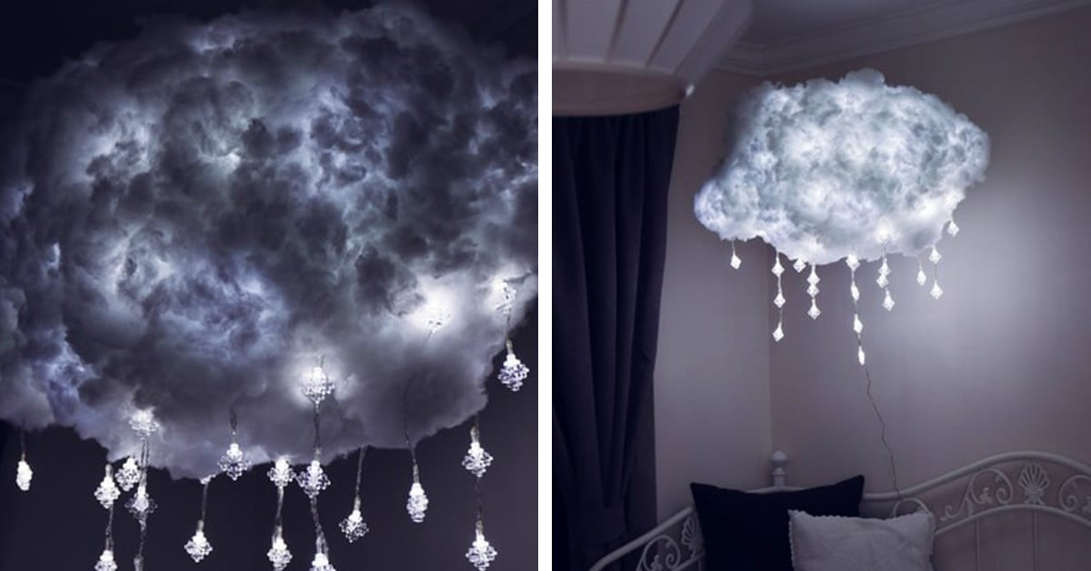 Best ideas about Cloud Light DIY . Save or Pin DIY Cloud Light is a Handcrafted Way to Bring Airy Now.