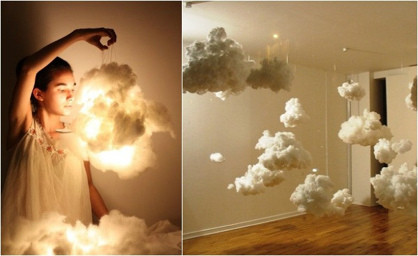 Best ideas about Cloud Light DIY . Save or Pin 10 Statement Light Fixtures You Can Make Yourself Now.
