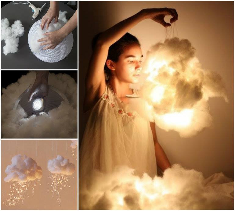 Best ideas about Cloud Light DIY . Save or Pin 3 Cool Tutorials How to Make a Cloud at Home Its So Cool Now.