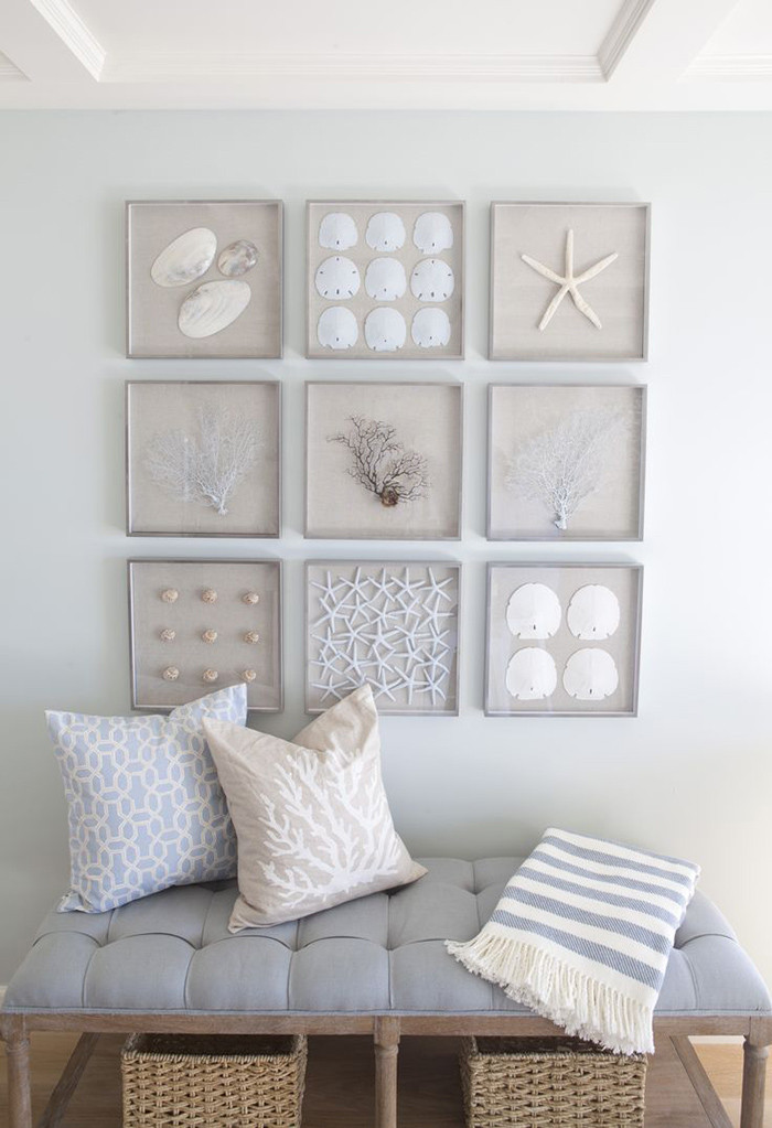 Best ideas about Coastal Wall Art . Save or Pin 7 Easy Beach Inspired Decorating Ideas for the Summer Now.
