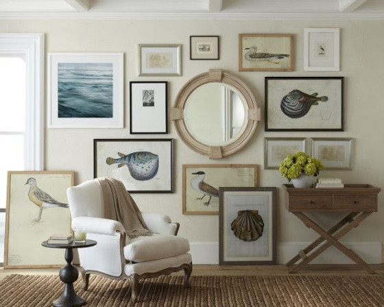 Best ideas about Coastal Wall Art . Save or Pin gallery wall nautical coastel Now.