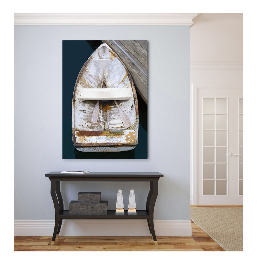Best ideas about Coastal Wall Art . Save or Pin Boat Canvas Print Nautical Wall Decor Wall Art Now.