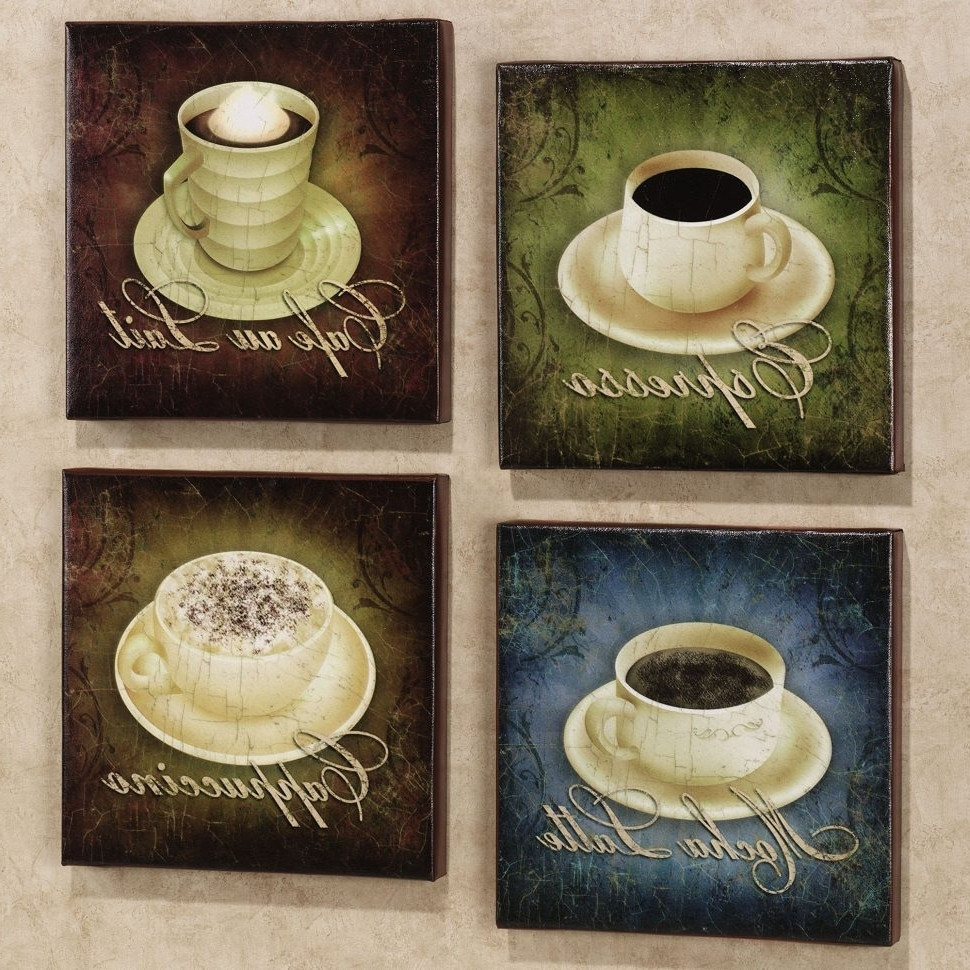 Best ideas about Coffee Kitchen Decor Walmart . Save or Pin 2019 Popular Kitchen Wall Art Sets Now.