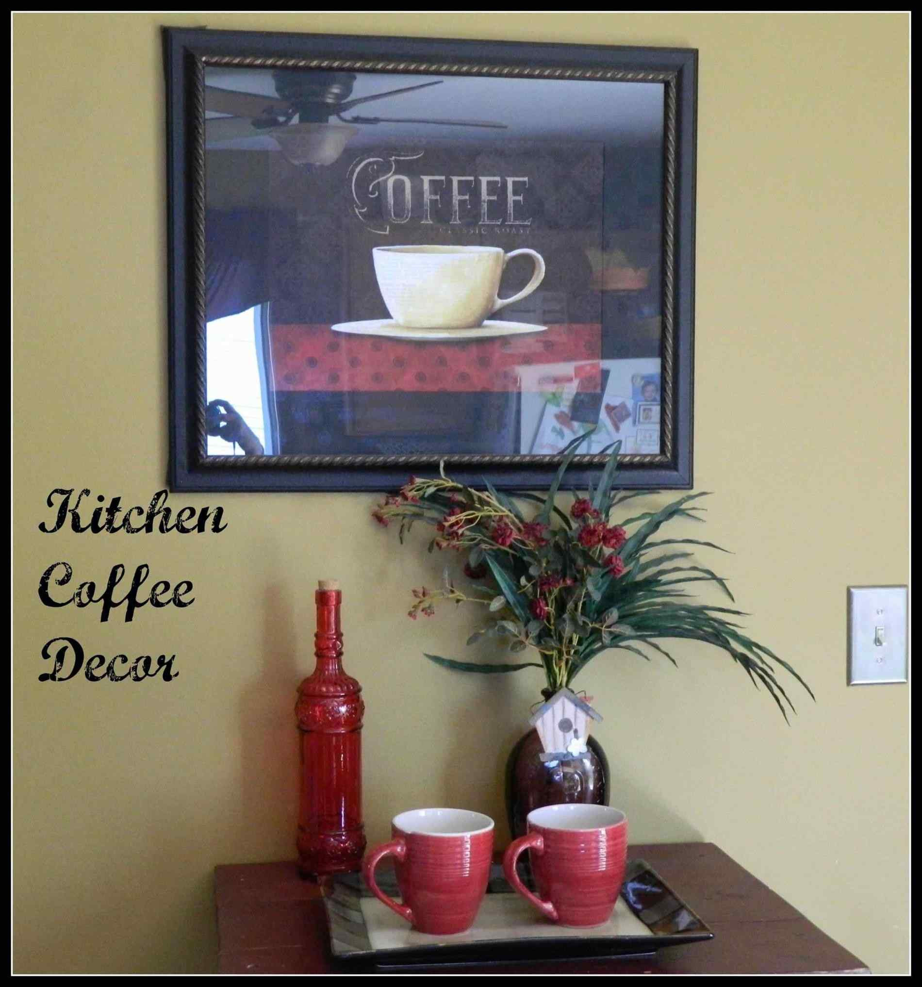 Best ideas about Coffee Kitchen Decor Walmart . Save or Pin Coffee Cup Decor For Kitchen Now.