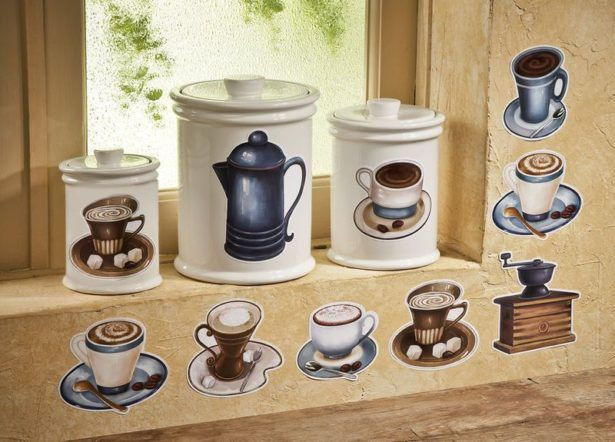 Best ideas about Coffee Kitchen Decor Walmart . Save or Pin The 25 best Cafe themed kitchen ideas on Pinterest Now.