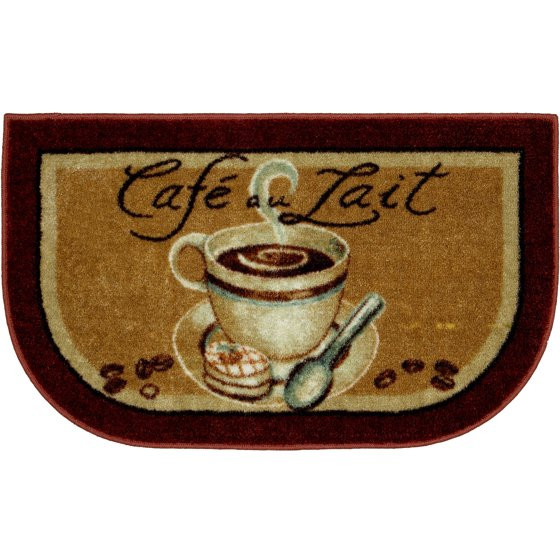 Best ideas about Coffee Kitchen Decor Walmart . Save or Pin Better Homes and Gardens Kitchen Mat Coffee Slice Rust Now.