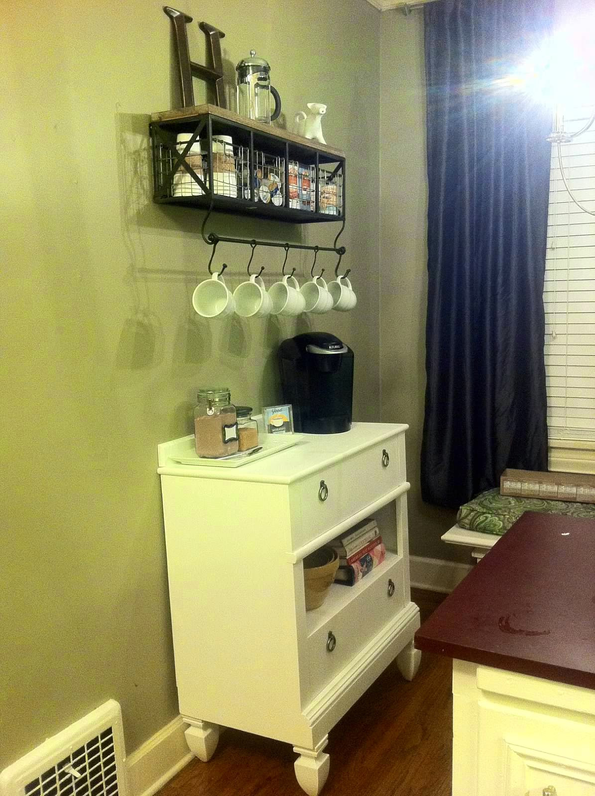 Best ideas about Coffee Kitchen Decor Walmart . Save or Pin Walmart Coffee Bar Now.