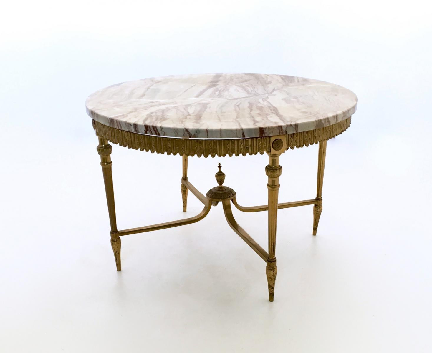 Best ideas about Coffee Table For Sale . Save or Pin Italian Marble And Brass Coffee Table S For Sale At Now.