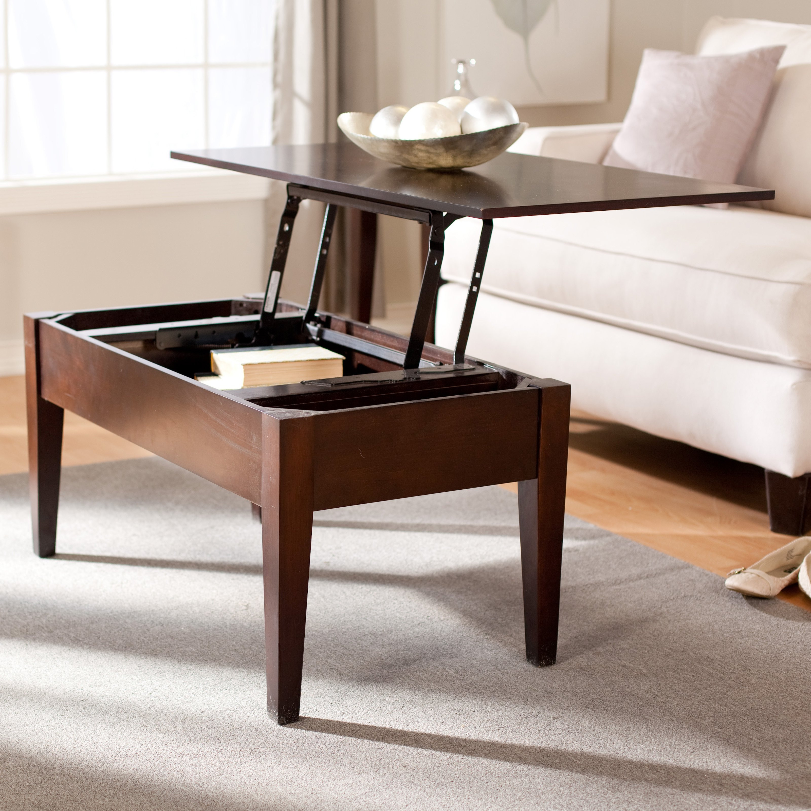 Best ideas about Coffee Table Lift Top . Save or Pin Turner Lift Top Coffee Table Espresso Coffee Tables at Now.