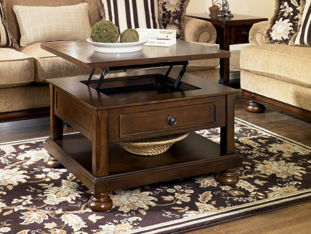 Best ideas about Coffee Table Lift Top . Save or Pin RUSTIC BROWN TRADITIONAL LIFT TOP COCKTAIL COFFEE TABLE Now.