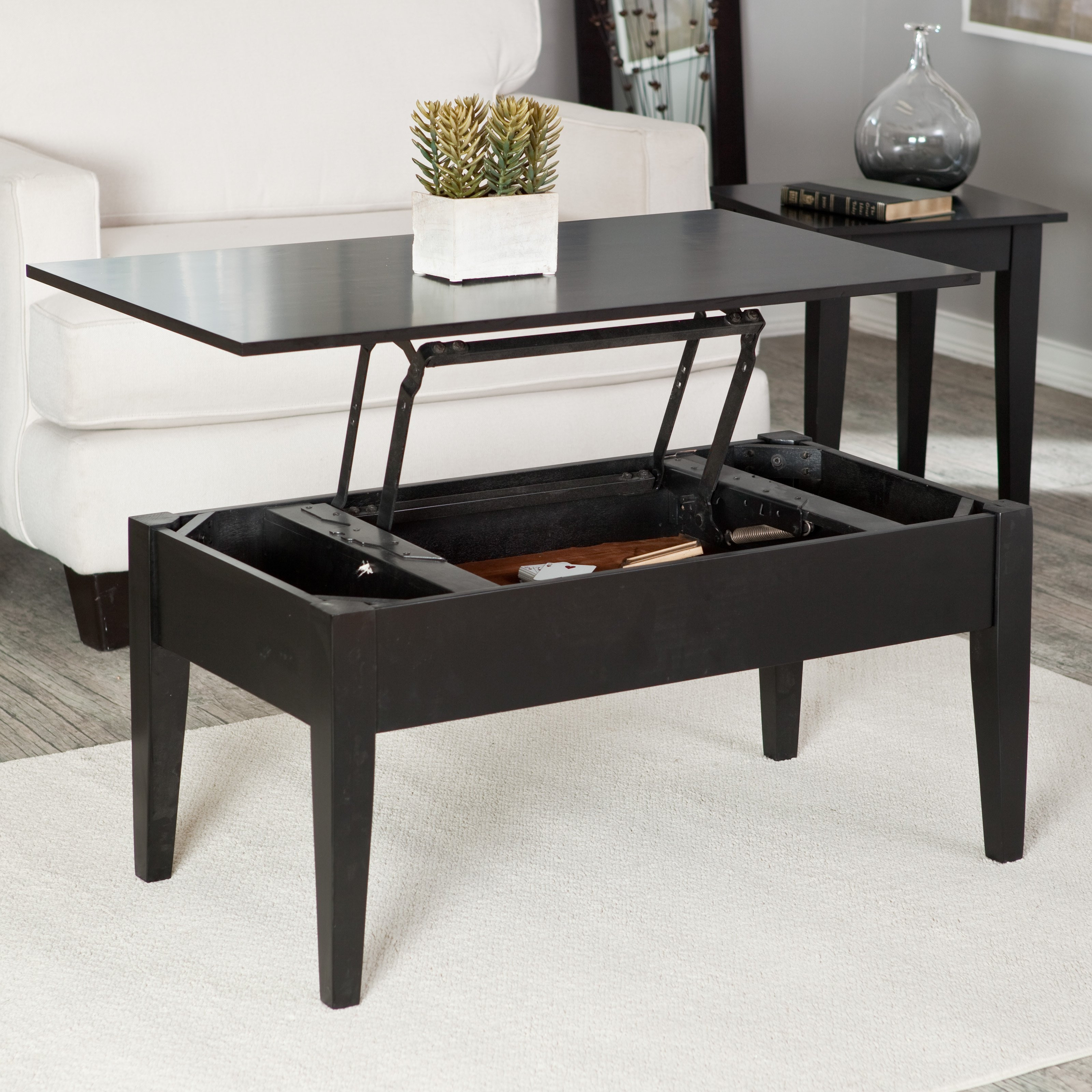 Best ideas about Coffee Table Lift Top . Save or Pin Small space furniture 12 smart s for tiny apartments Now.