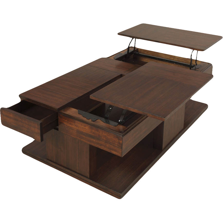 Best ideas about Coffee Table Lift Top . Save or Pin Darby Home Co Dail Coffee Table with Double Lift Top Now.