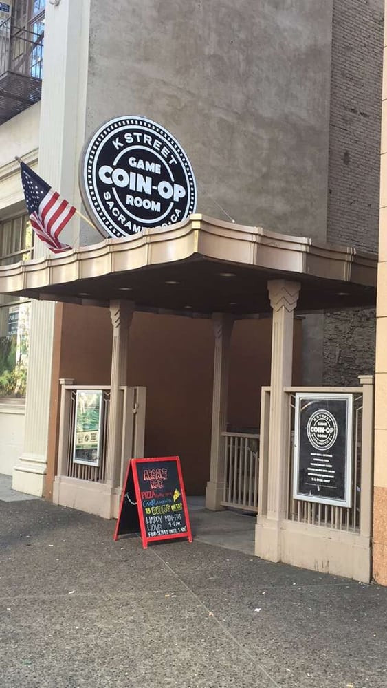 Best ideas about Coin Op Game Room Sacramento . Save or Pin Nice entrance Yelp Now.